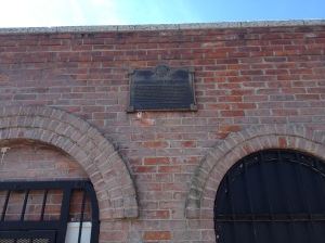 Check out the classic Carroll Street Bridge sign. dating from when the Gowanus was still an active industrial waterway