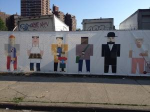 Lower Manhattan art/ads