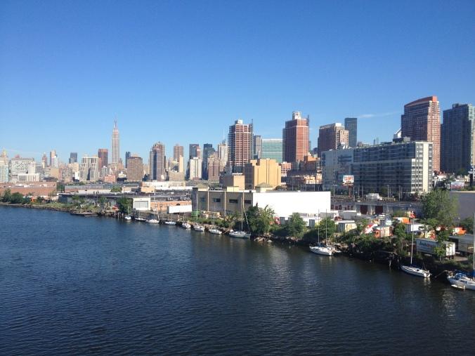 Manhattan from the Pulaski