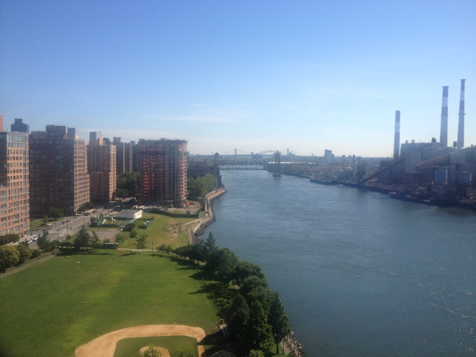 The view North from the Queensboro